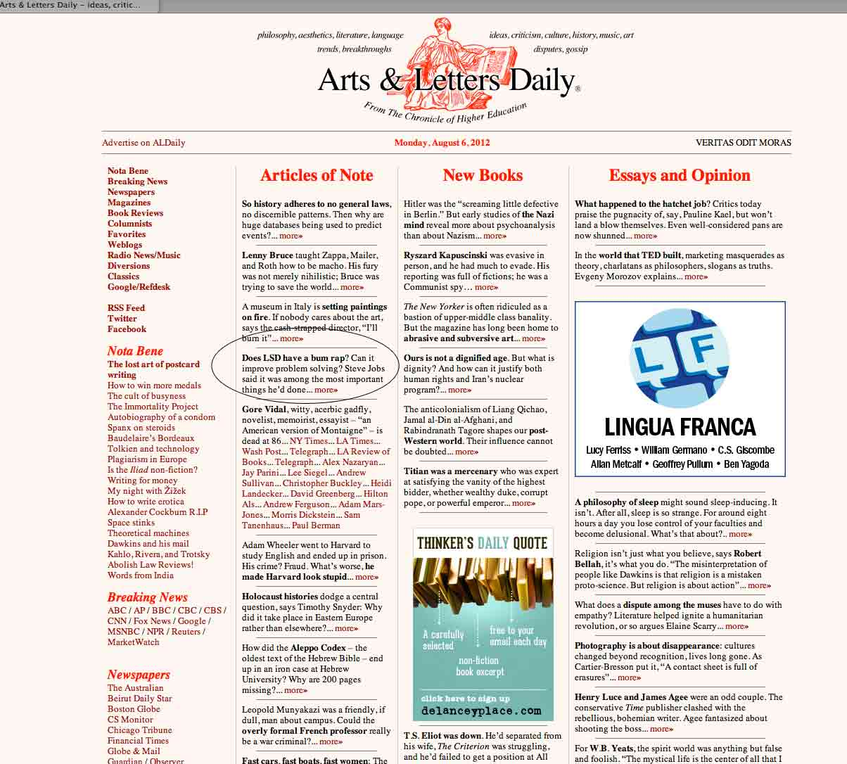 arts and letters daily new arts and letters daily cover letter examples 29481