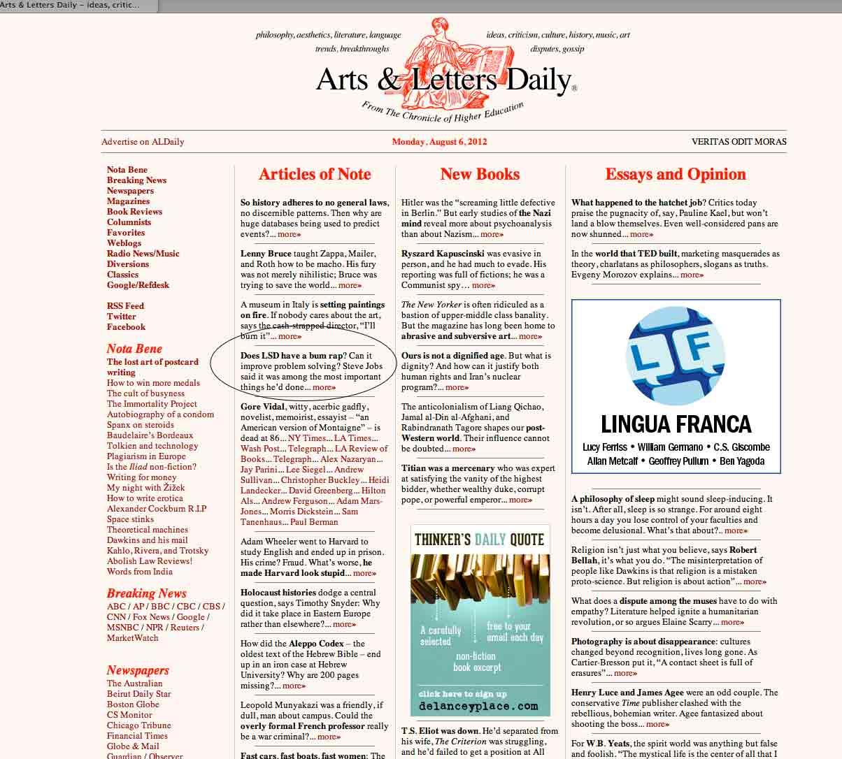 James Fadiman – Reviews, Articles & Interviews